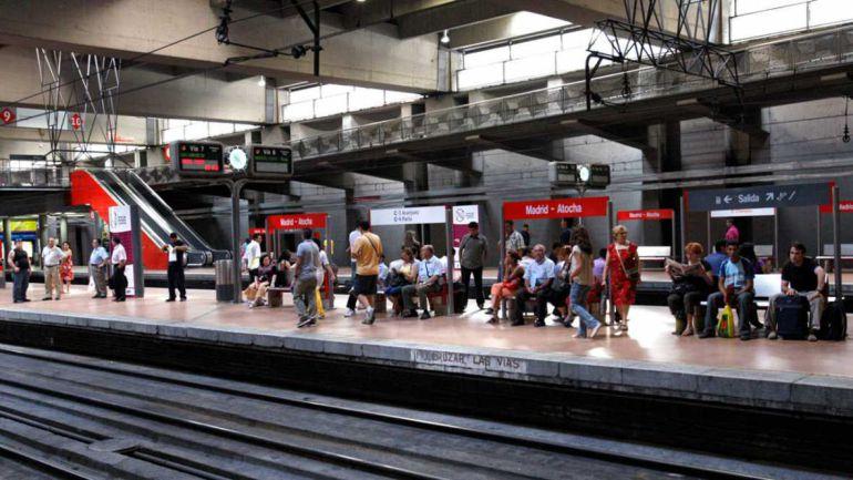 La estación de Atocha Renfe en Madrid.