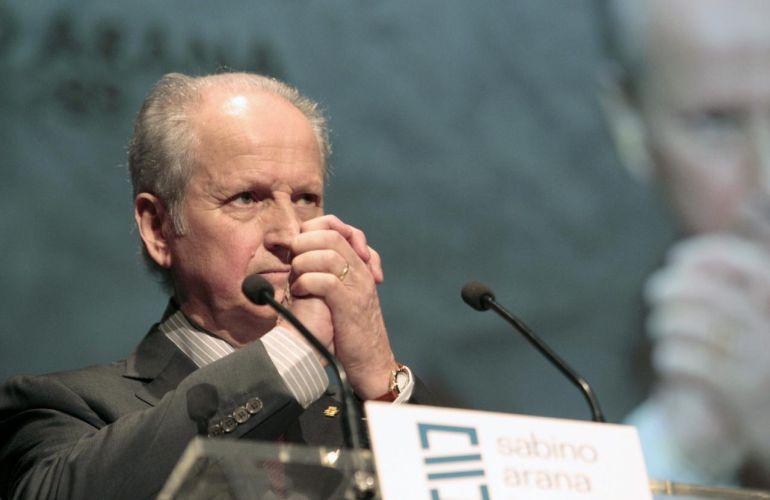 Juan María Atutxa, en una fotografía de archivo.