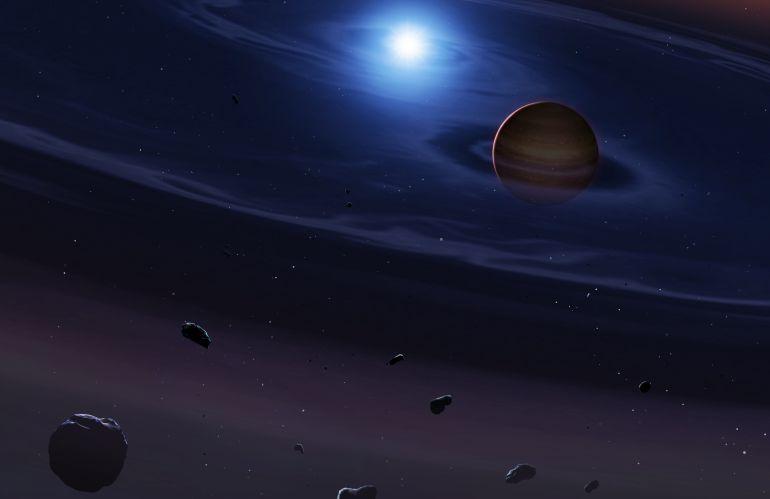 """El material planetario descubierto a 1.000 años luz parece ser rocoso y sugiere que los planetas terrestres en sistemas con dos """"soles"""" podrían existir, como ocurre en la ficción en """"Tatooine"""", el planeta de Luke Skywalker."""
