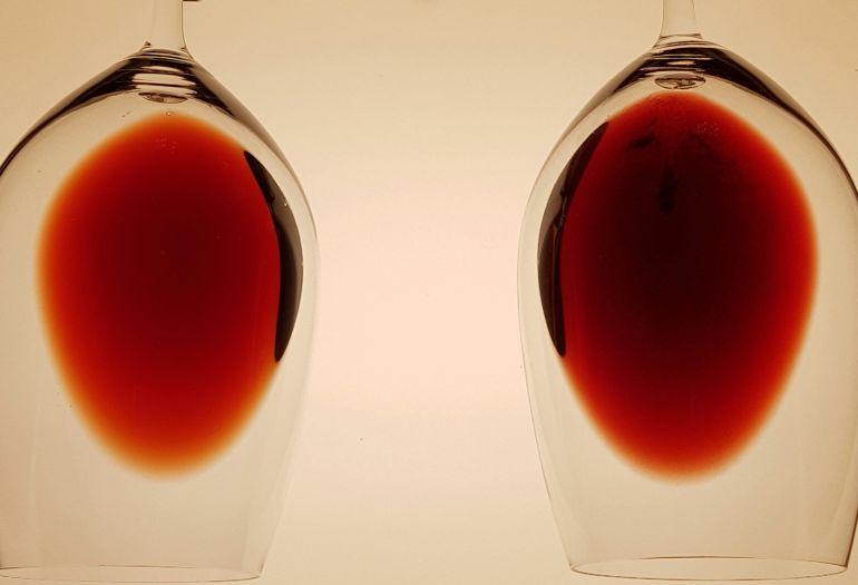 No es una radiografía del vino, pero lo parece...