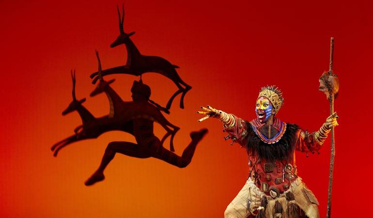 Un momento del musical 'El Rey León'.