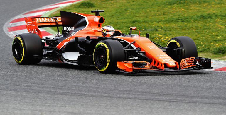 El piloto de McLaren-Honda Stoffel Vandoorne.