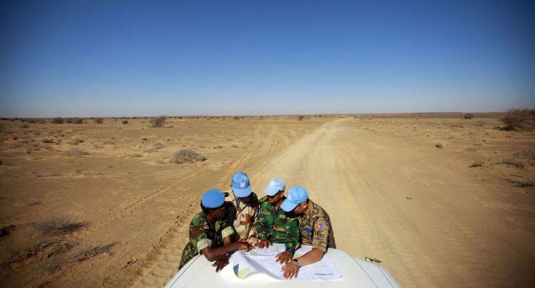 La misión de Naciones Unidas para el Referéndum en el Sáhara Occidental atribuye ese territorio al Frente Polisario