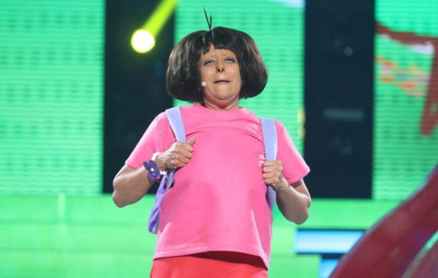 Yolanda Ramos imitó a Dora en la semifinal de 'TCMS 5'