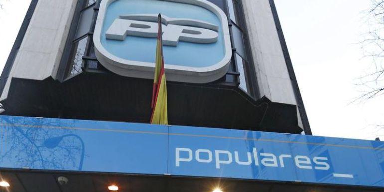 Sede central del Partido Popular en la calle Génova de Madrid