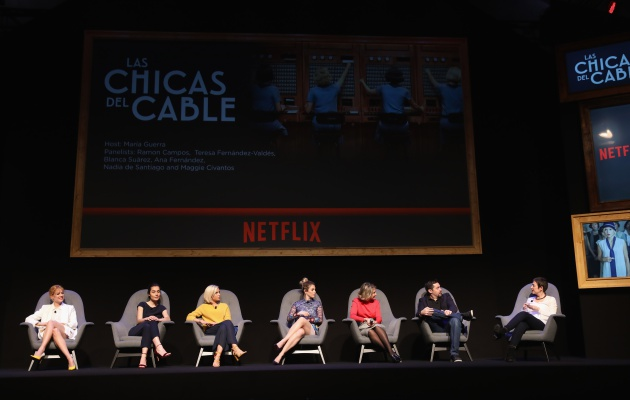 'Las chicas del cable' en el panel 'See What's Next' de Netflix