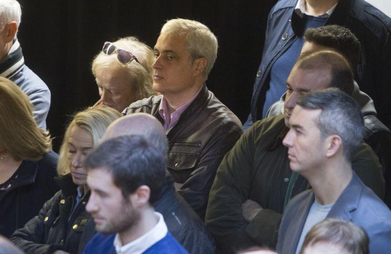 El exconseller de Justicia, Germà Gordó, asiste al acto de presentación del PDeCAT en Barcelona