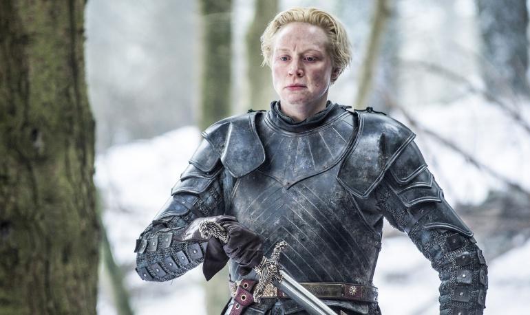 Brienne de Tarth en la serie 'Juego de tronos'
