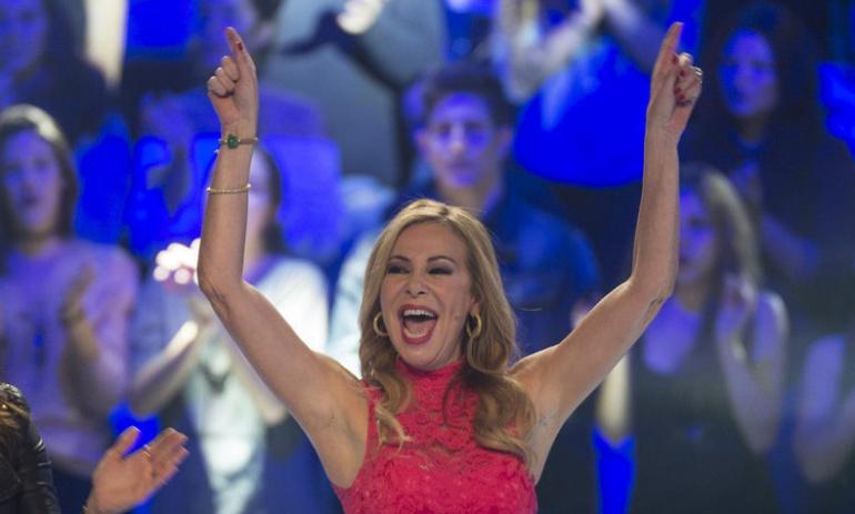 Ana Obregón en 'El gran reto musical' de La 1