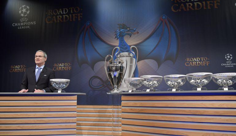 Sorteo cuartos champions sorteo de cuartos de la for Sorteo champions cuartos 2017