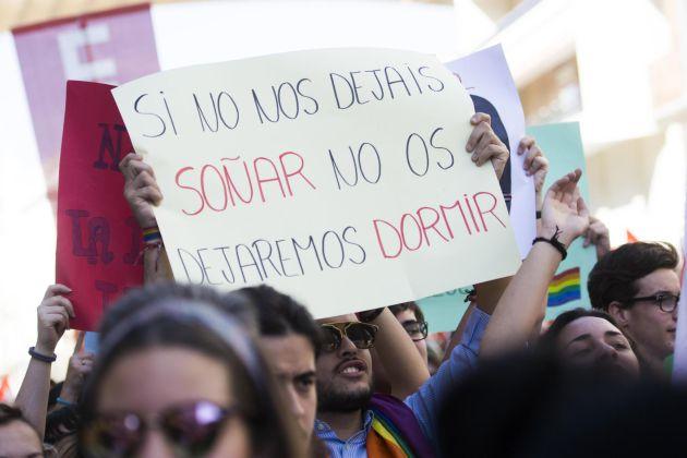 FOTOGALERÍA | Las mejores imágenes de la huelga en la enseñanza