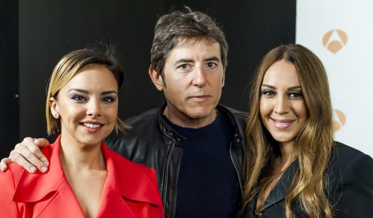 Chenoa, Manel Fuentes y Mónica Naranjo en la presentación