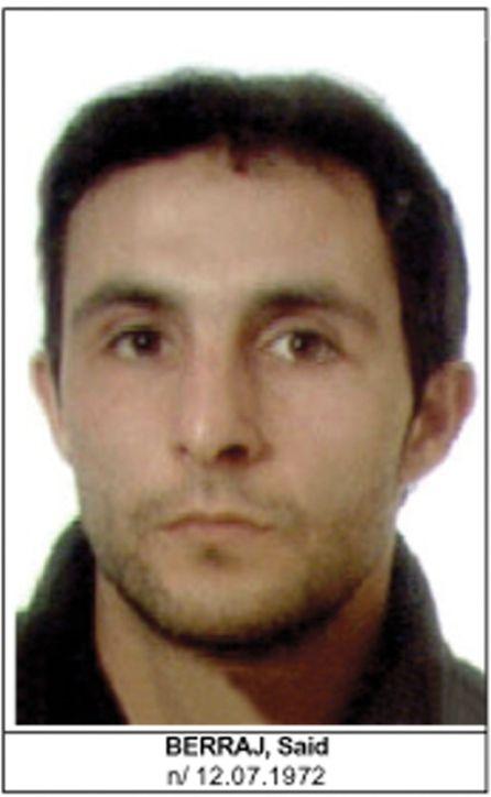 Fotografía de Said Berraj facilitada en marzo de 2004 por la Dirección General de la Policía.