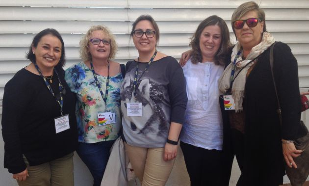 Cinco de las integrantes del #ProyectoRoca.