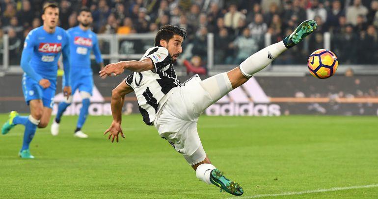 El jugador de la Juventus Sami Khedira.
