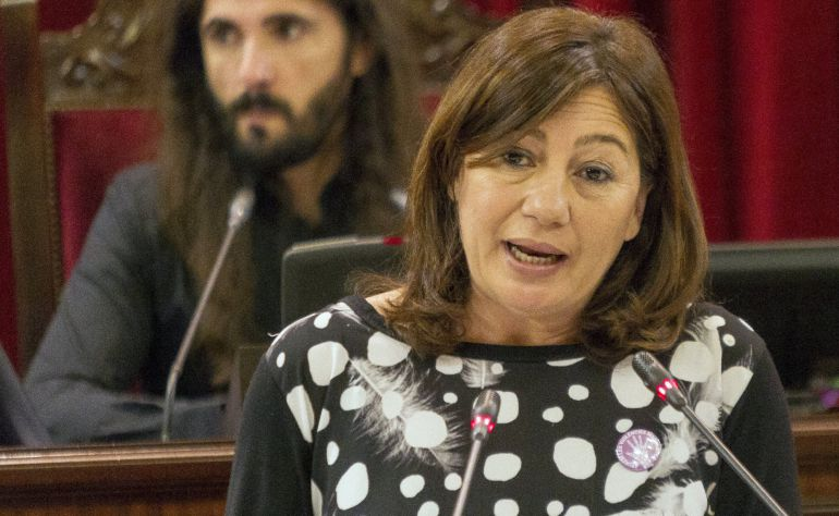 La presidenta de las Islas Baleares, Francina Armengol
