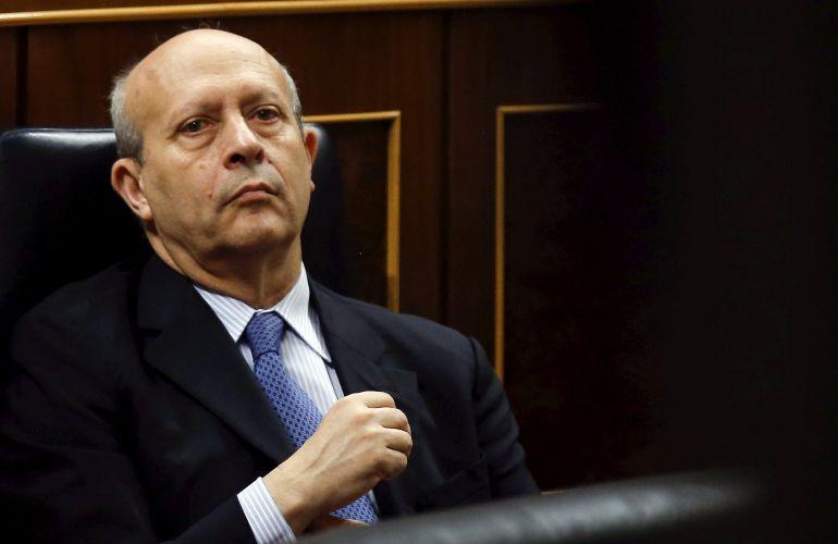 El exministro de Educación José Ignacio Wert