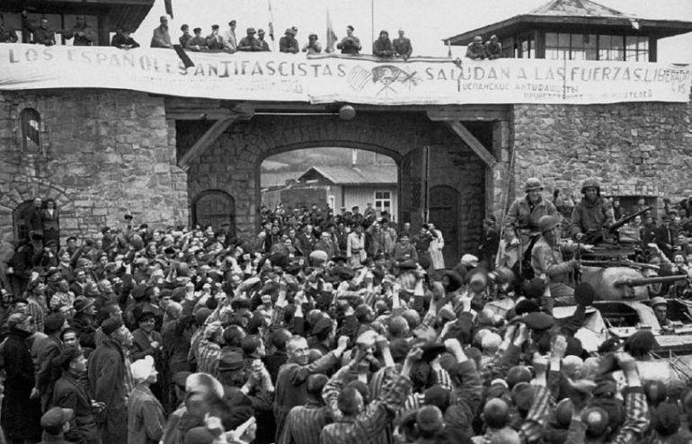 Campo de concentración durante el Holocausto.