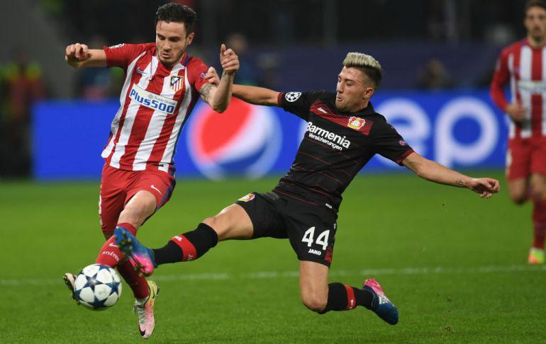 Atlético de Madrid y Bayer Leverkusen se juegan en el Calderón el pase a los cuartos de final de la Champions League.