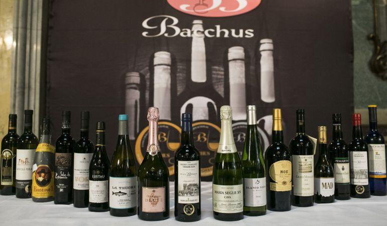 """Vinos españoles han logrado 15 de los 18 """"Gran Bacchus de Oro 2017""""."""