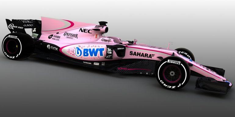 El nuevo Force India.