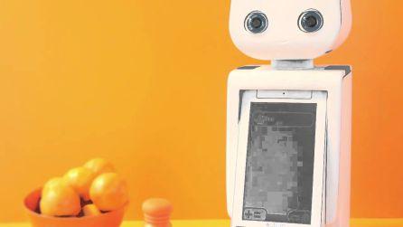 'Autom' es el robot que te entretiene mientras haces las tareas del hogar.