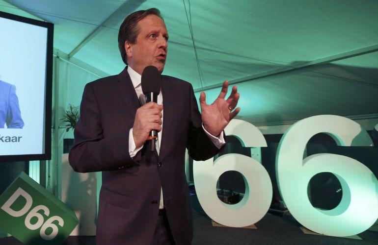 Alexander Pechtold, líder del partido D66.
