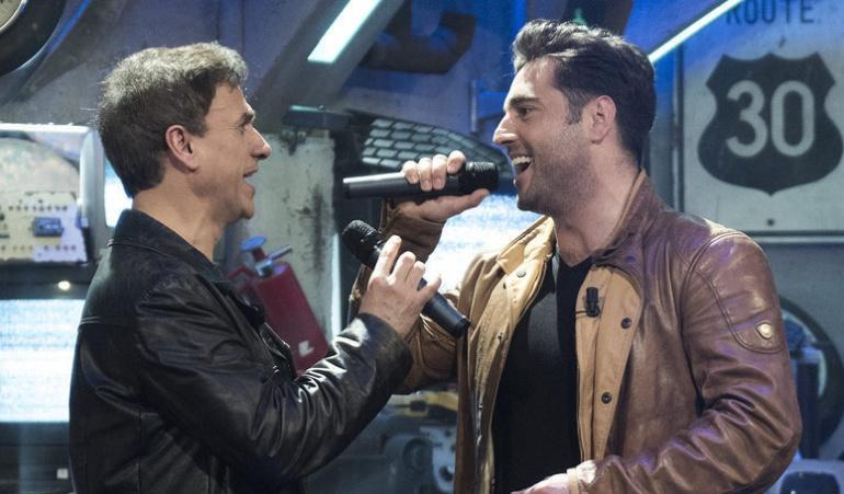 José Mota y Bustamante en el estreno de 'El acabose'
