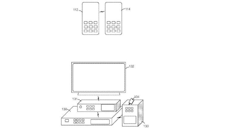 Imágenes de la patente de Sony.