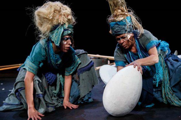 'Nómadas' es una de los espectáculos de 'Teatro Paraíso'.