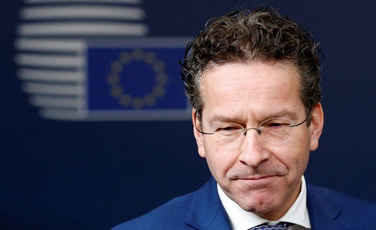 El ministro de Economía holandés y  presidente del Eurogrupo, Jeroen Dijsselbloem.