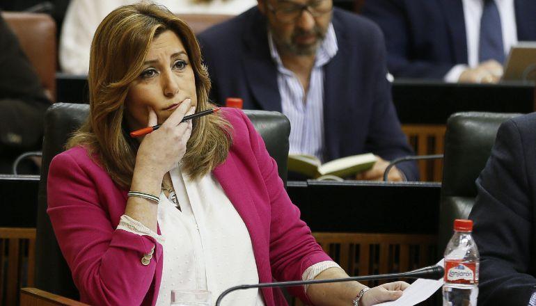 La presidenta de la Junta de Andalucía Susana Díaz.