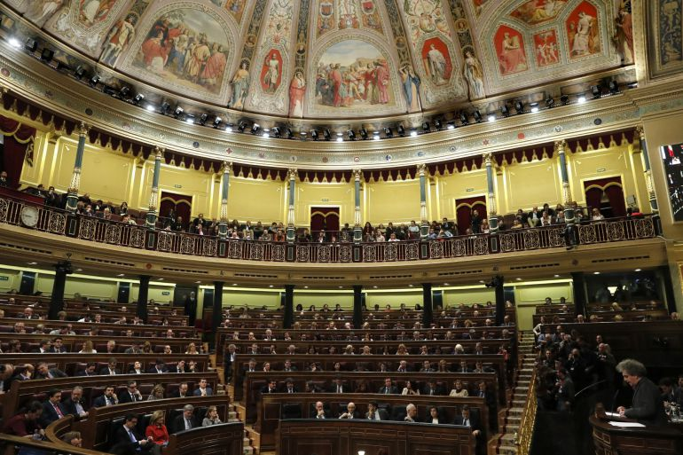 Imagen del Congrseo de los Diputados.