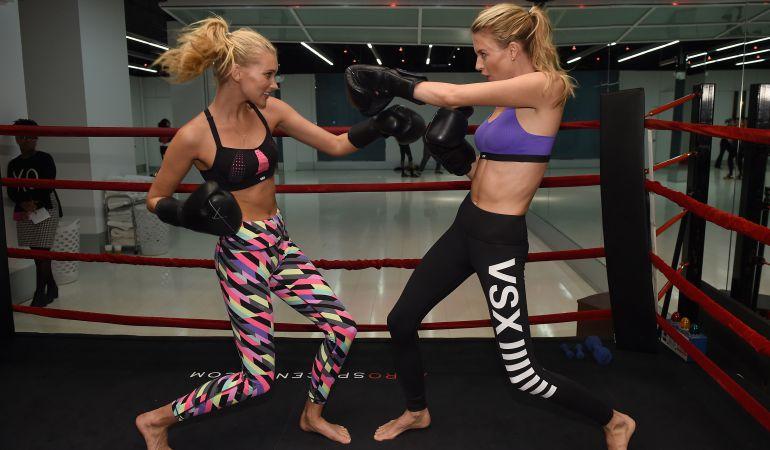 ¿Por qué las modelos de Victoria's Secret practican boxeo?
