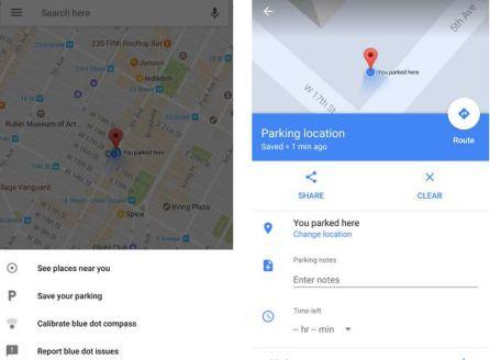 La app te permitirá saber dónde has aparcado tu coche.