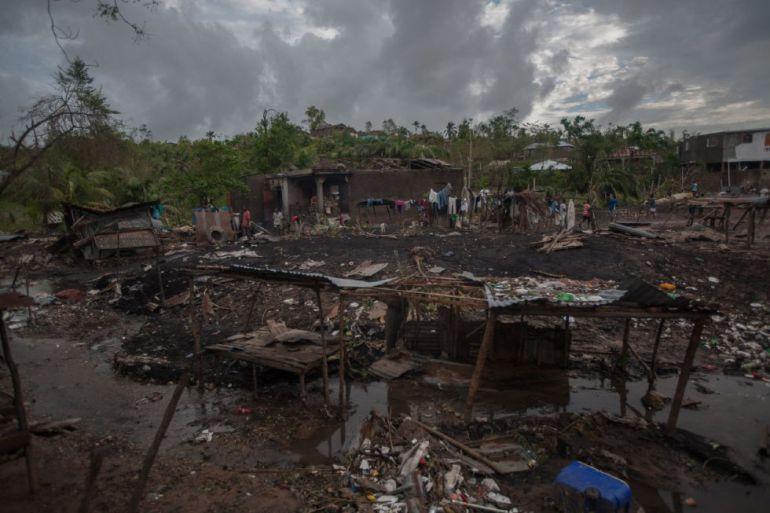 El devastador paso del huracán Matthew por Haití, Cuba y Bahamas.