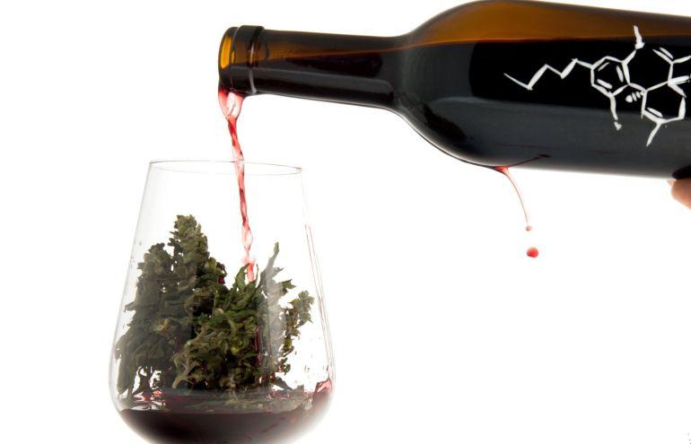 Un vino aromatizado con cáñamo.