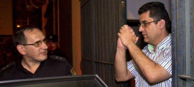 El exdirector del centro tras ser detenido