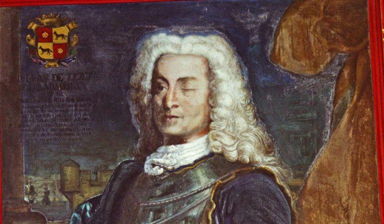 El almirante Blas de Lezo.