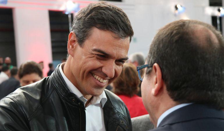 El candidato a secretario general del PSOE, Pedro Sánchez.