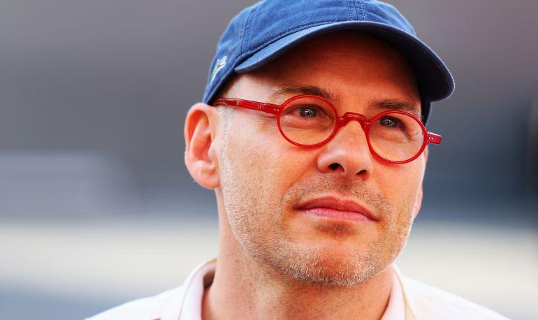 Jaques Villeneuve, en el GP de España de 2013.