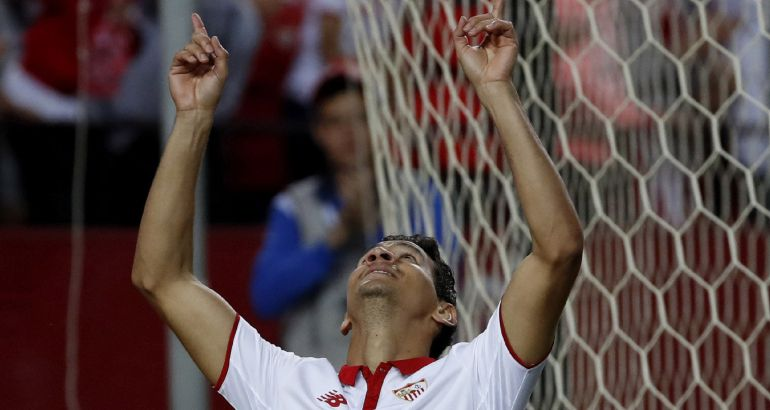 Ganso celebra su segundo gol ante el Granada