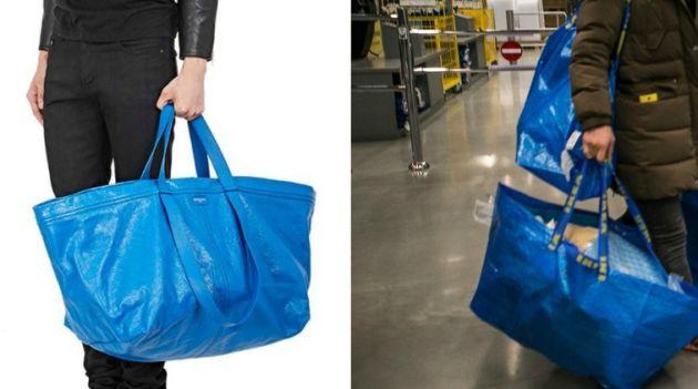 La comparativa de los dos bolsos.