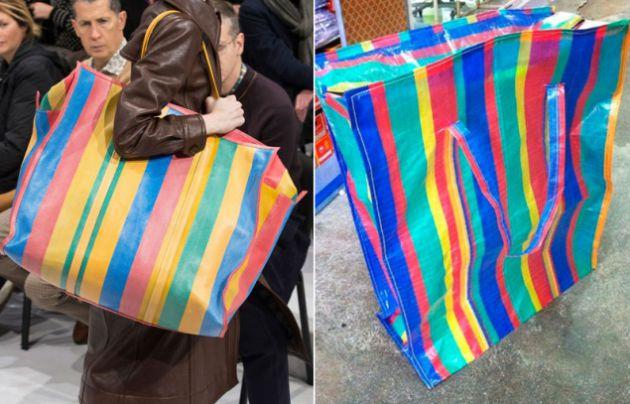 Balenciaga pone a la venta por euros una bolsa muy - Bolsas vacio ropa ikea ...