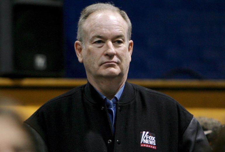 Bill O'Reilly en una fotografia de archivo durante la campaña de hIllary Clinton en el 2008