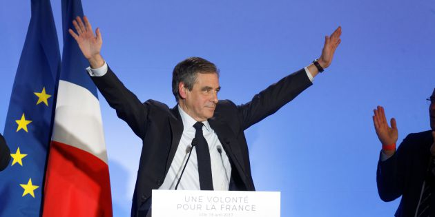 El candidato Francois Fillon.