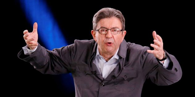 El candidato Jean-Luc Melenchon.