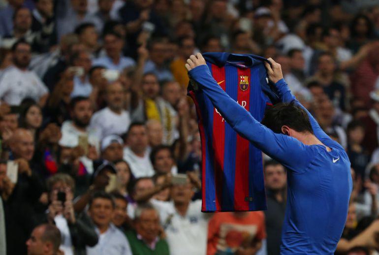 gol messi clásico: Messi hace probar al Madrid su propia medicina