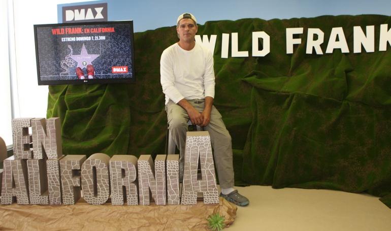 Frank Cuesta presenta la nueva temporada de 'Wild Frank'