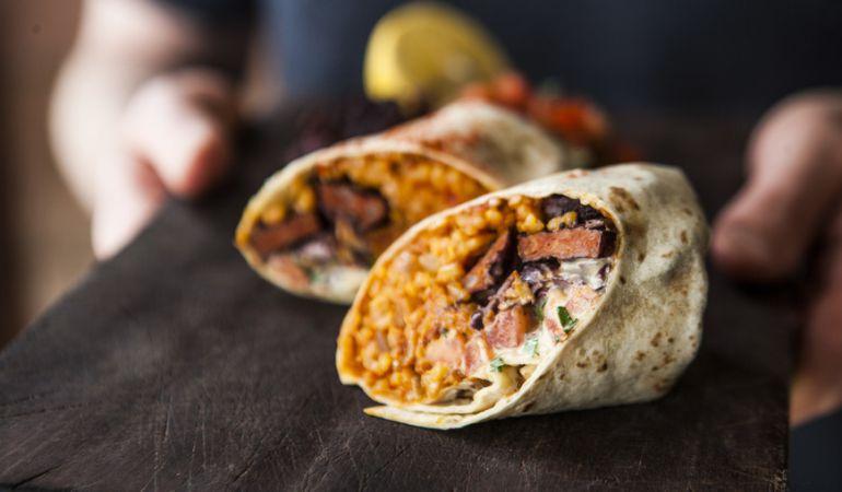 Vuelve la paella con chorizo, en esta ocasión en forma de burrito
